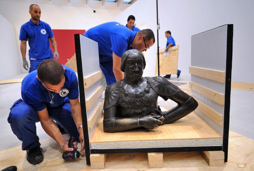 Aprenda como funciona o transporte de obras de arte internacional (foto: internet)
